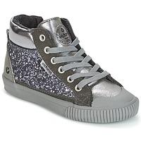 Skor Flick Höga sneakers Victoria BOTA PIEL PU/GLITTER Silver