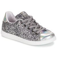 Skor Flick Sneakers Victoria DEPORTIVO BASKET GLITTER KID Silver