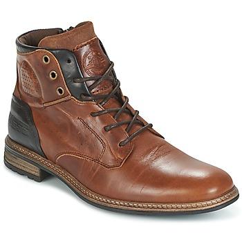 Skor Herr Boots Bullboxer MOHA COGNAC