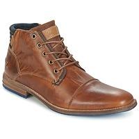 Skor Herr Boots Bullboxer MESSI COGNAC
