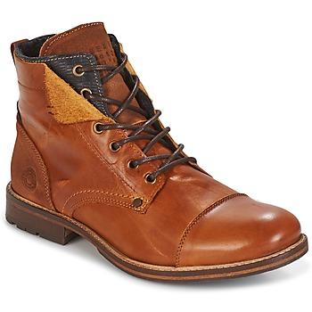Skor Herr Boots Bullboxer BEN COGNAC