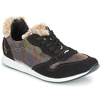 Skor Dam Sneakers Ippon Vintage RUN SNOW Svart / Mässingsfärg