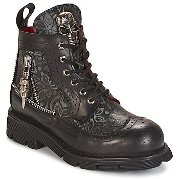 Skor Boots New Rock MORTY Svart