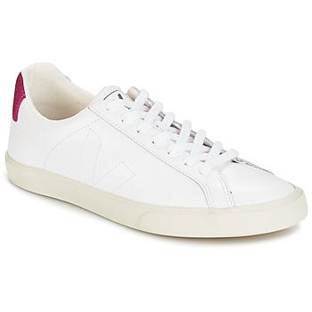 Skor Dam Sneakers Veja ESPLAR LT Vit / Paljett / Magenta