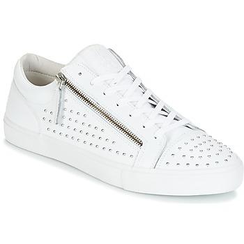 Skor Herr Sneakers Jim Rickey ZED STUDS Vit / Silverfärgad