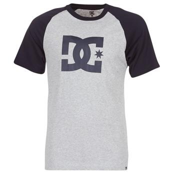 textil Herr T-shirts DC Shoes STAR RAGLAN SS Svart / Grå