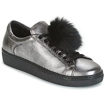 Skor Dam Sneakers Tosca Blu CERVINIA POM PON Silver