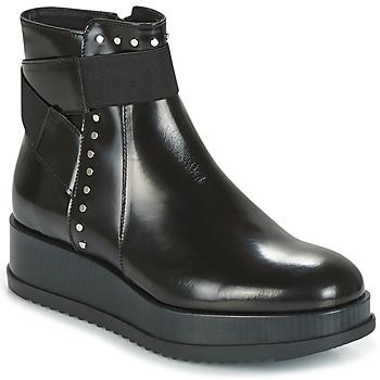 Skor Dam Boots Tosca Blu CIVETTA ABRASIVATO Svart