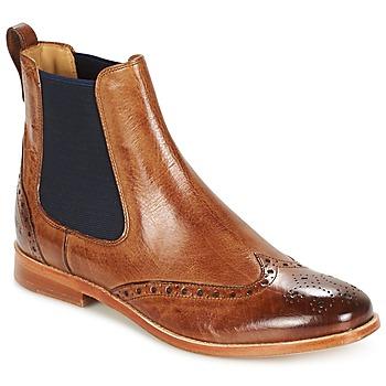Skor Dam Boots Melvin & Hamilton AMELIE 5 Brun / Navy