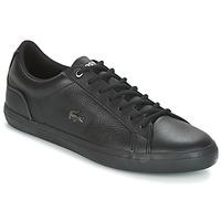 Skor Herr Sneakers Lacoste LEROND 4 Svart / Vit