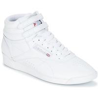 Skor Dam Höga sneakers Reebok Classic F/S HI Vit / Silverfärgad