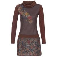 textil Dam Korta klänningar Smash NANCY Brun