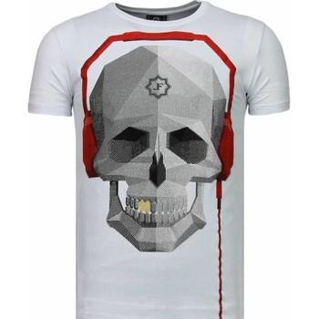textil Herr T-shirts Local Fanatic Skull Bring The Beat Vit