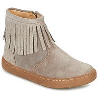 Skor Flick Boots Shoo Pom PLAY FRINGE Mullvadsfärgad / Platina