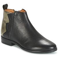 Skor Flick Boots Adolie ODEON WILD Svart / Platina