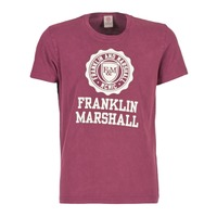 textil Herr T-shirts Franklin & Marshall GRAVI Bordeaux
