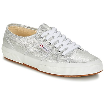 Skor Dam Sneakers Superga 2750-LAMEW Silver