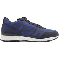 Skor Herr Sneakers Hogan HXM2610W500ESB0XKA blu acceso
