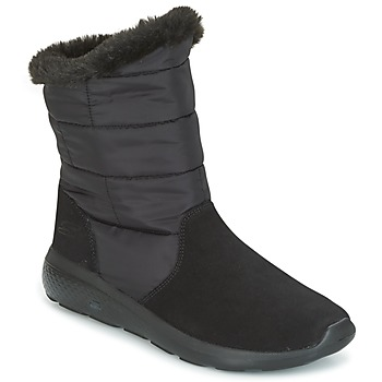 Skor Dam Boots Skechers ON THE GO CITY 2 PUFF Svart