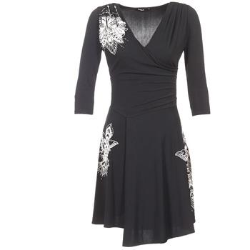 textil Dam Korta klänningar Desigual GRAFU Svart