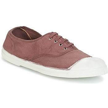 Skor Dam Sneakers Bensimon TENNIS LACET Plommon
