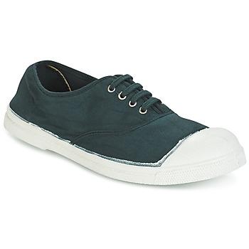Skor Dam Sneakers Bensimon TENNIS LACET Grön / Mörk