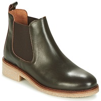 Skor Dam Boots Bensimon BOOTS CREPE Brun