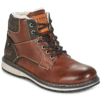 Skor Herr Boots Tom Tailor LORENZA Brun