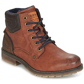Skor Herr Boots Tom Tailor TIAGO Brun