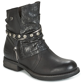 Skor Dam Boots Tom Tailor RESTOUNE Svart