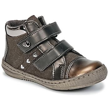 Skor Flickor Boots Citrouille et Compagnie HOUPADI Brun