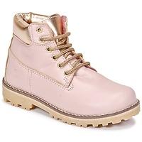Skor Flickor Boots Citrouille et Compagnie HICHOU Rosa
