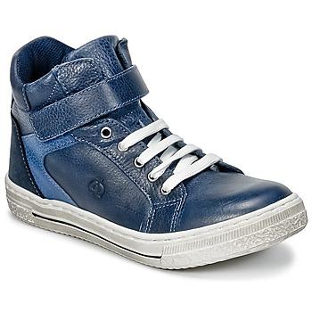 Skor Pojk Höga sneakers Citrouille et Compagnie HOCHOU Marin