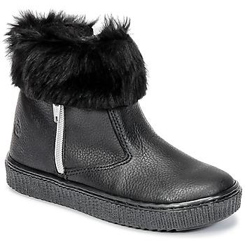 Skor Flickor Boots Citrouille et Compagnie HOUPI Svart