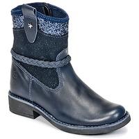 Skor Flickor Boots Citrouille et Compagnie HAYO Blå