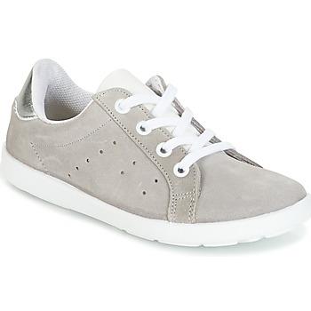 Skor Flickor Sneakers Citrouille et Compagnie HINETTE Grå / Silver