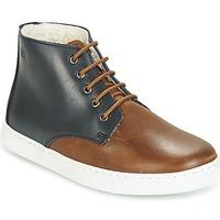 Skor Pojkar Boots Citrouille et Compagnie HILABOUL Brun / Marin