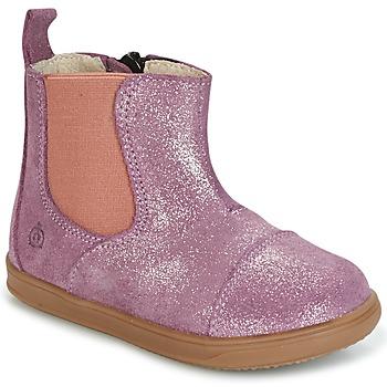 Skor Flickor Boots Citrouille et Compagnie HUETTE Rosa