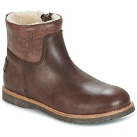 Skor Flick Boots Shabbies LOW STITCHDOWN LINED Brun