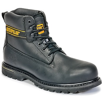 Skor Herr safety shoes Caterpillar HOLTON ST SB Svart