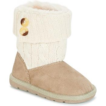 Skor Flickor Boots Chicco CHARME Beige / Brun