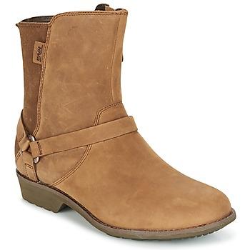 Skor Dam Boots Teva DE LA VINA DOS Brun