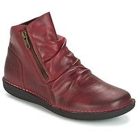 Skor Dam Boots Casual Attitude HERMINA Bordeaux
