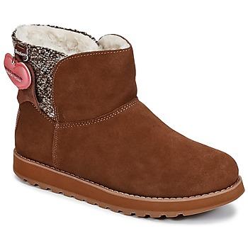 Skor Dam Boots Skechers KEEPSAKES Brun