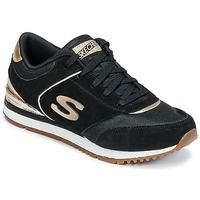Skor Dam Sneakers Skechers SUNLITE Svart / Guldfärgad