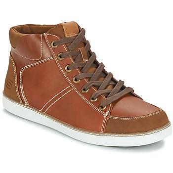 Skor Herr Höga sneakers Skechers MENS USA Kamel