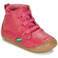 Skor Flick Boots Kickers SONICE FUCHSIA
