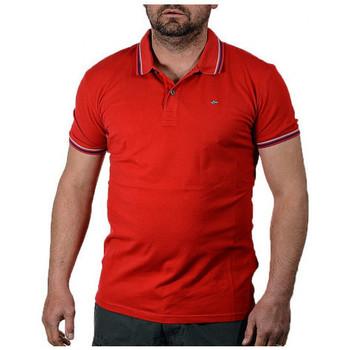 textil Herr Kortärmade pikétröjor Napapijri