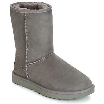 Skor Dam Boots UGG CLASSIC SHORT II Grå