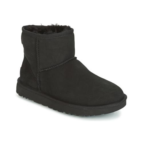 Skor Dam Boots UGG CLASSIC MINI II Svart